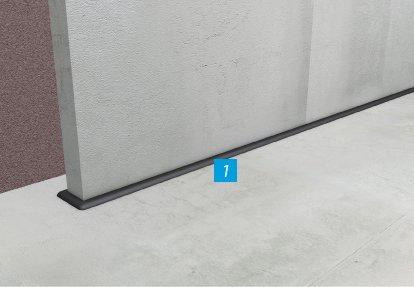 Horizontalne barijere ispod zidova (novogradnja)