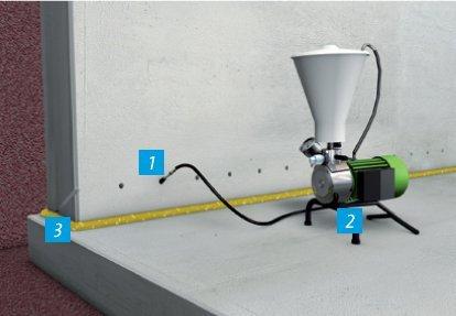 Hidroizolacija gradjevinskih spojeva na zid/pod spojevima