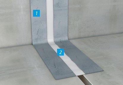 Hidroizolacija dilatacija i ostalih pokretnih spojeva